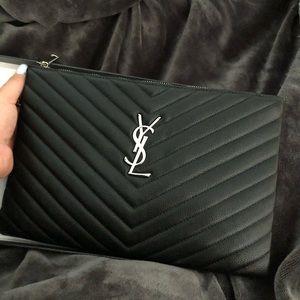 Handbags - ysl clutch bag